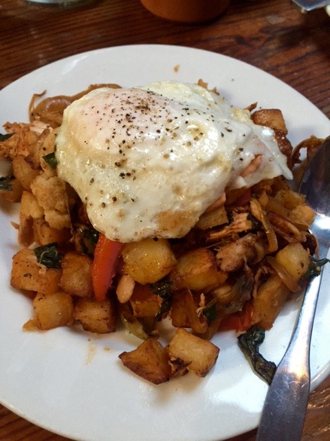 Moroccan Chicken Hash