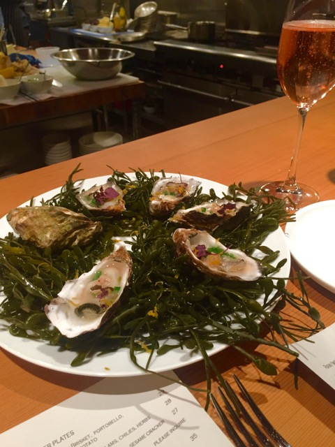 The oysters were a great way to start of our meal at Taylor Railworks