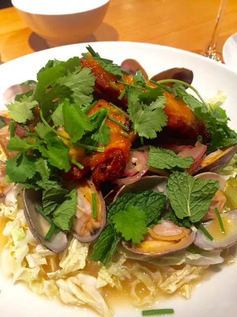 The amazing Chicken and Clams