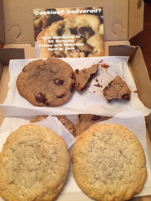 My delivery of After Dark Cookies